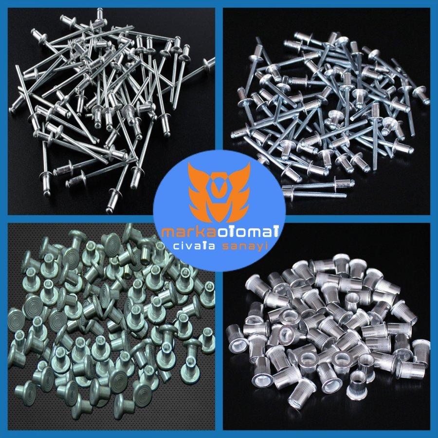 Aluminum Rivet Types